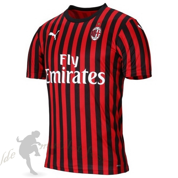 Tee Shirt Foot Pas Cher PUMA Domicile Maillot AC Milan 2019 2020 Rouge