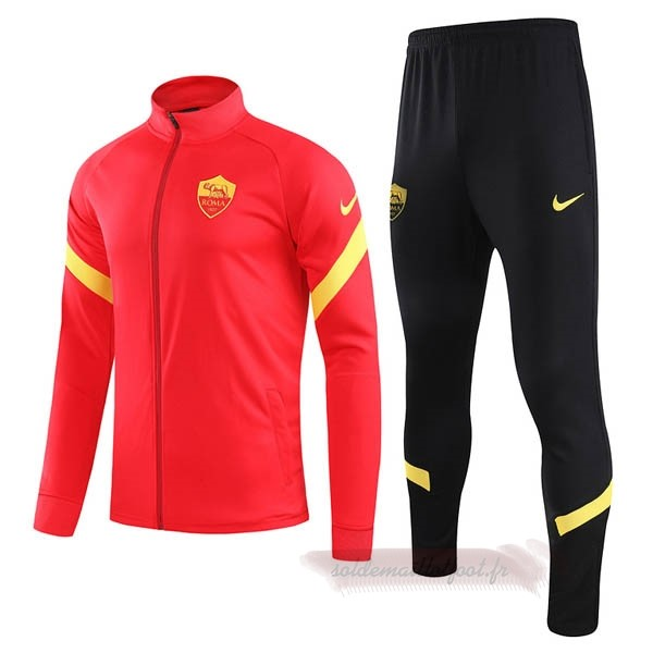 Tee Shirt Foot Pas Cher Nike Survêtements AS Roma 2020 2021 Rouge