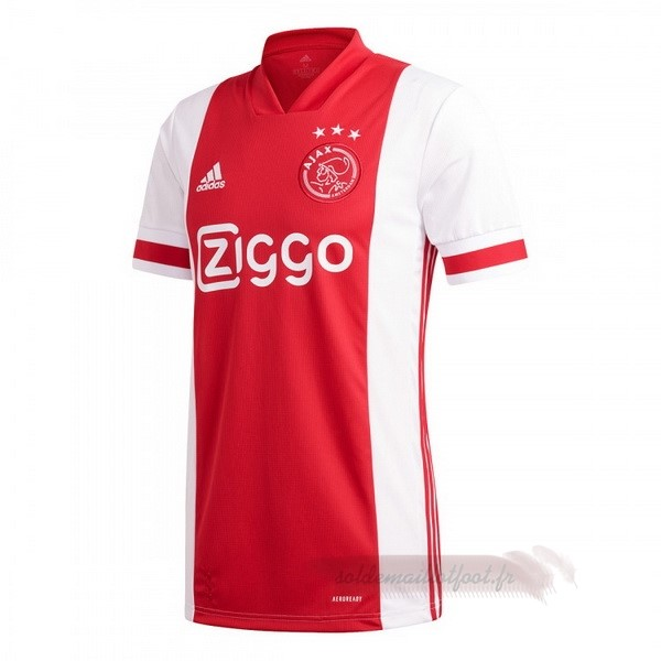 Tee Shirt Foot Pas Cher adidas Thailande Domicile Maillot Ajax 2020 2021 Rouge