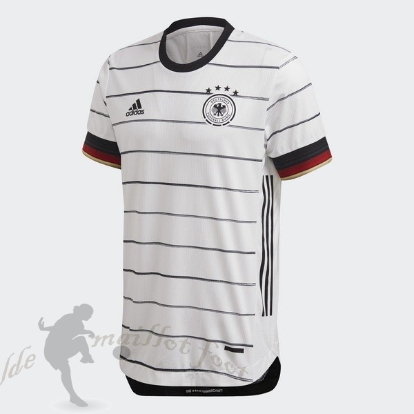 Tee Shirt Foot Pas Cher adidas Domicile Maillot Allemagne 2020 Blanc