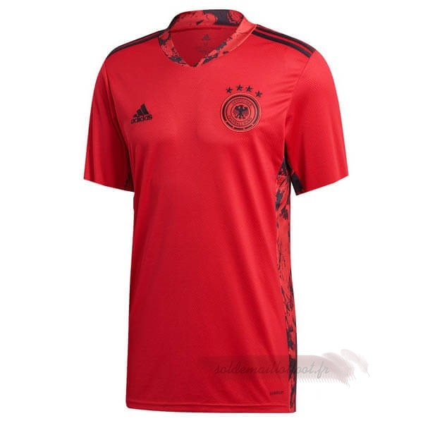 Tee Shirt Foot Pas Cher adidas Domicile Maillot Gardien Allemagne 2020 Rouge