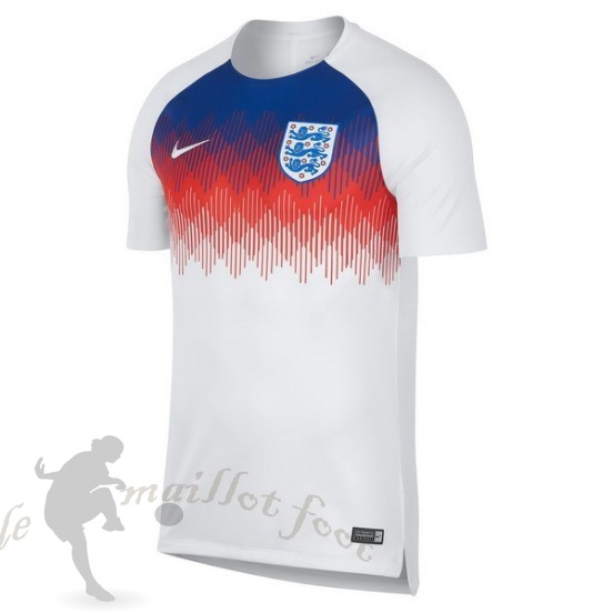 Tee Shirt Foot Pas Cher Nike Entrainement Angleterre 2018 Blanc