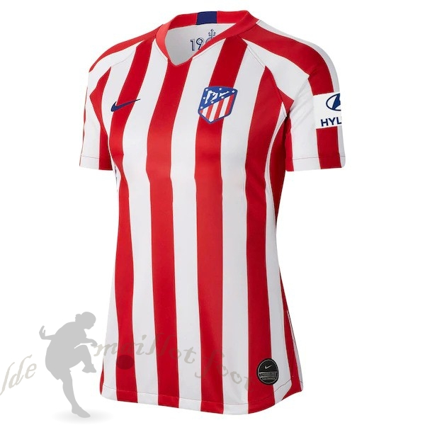 Tee Shirt Foot Pas Cher Nike Domicile Maillot Femme Atlético Madrid 2019 2020 Rouge