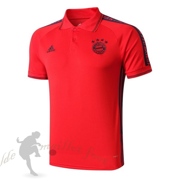 Tee Shirt Foot Pas Cher adidas Polo Bayern Munich 2019 2020 Rouge