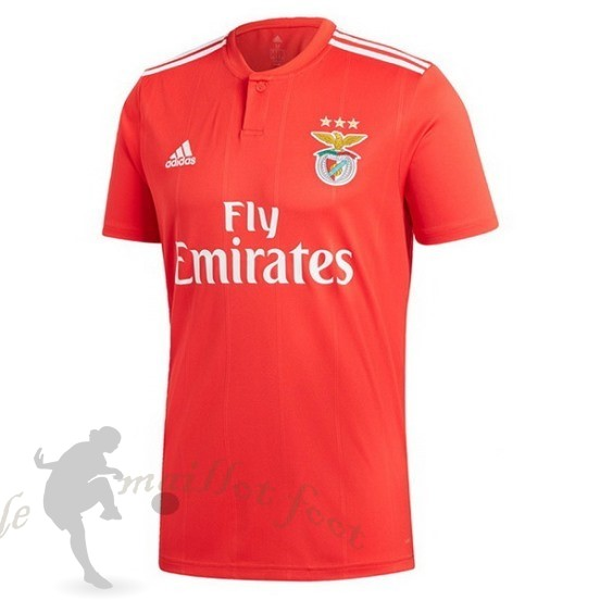 Tee Shirt Foot Pas Cher Adidas Domicile Maillot Benfica 2018 2019 Rouge