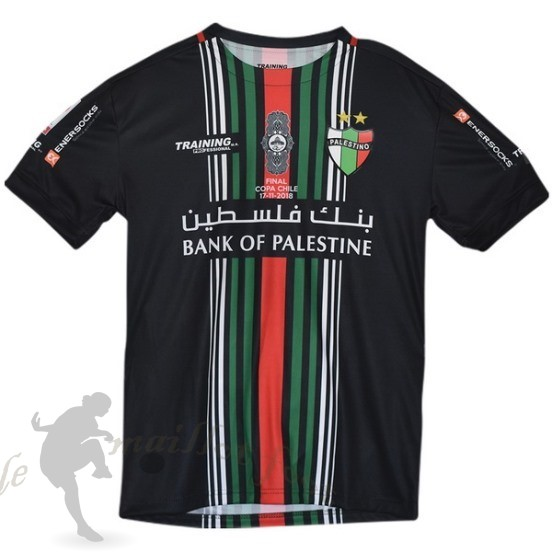 Tee Shirt Foot Pas Cher Enersocks Coupe Finale Cd Palestino 2018 2019 Noir