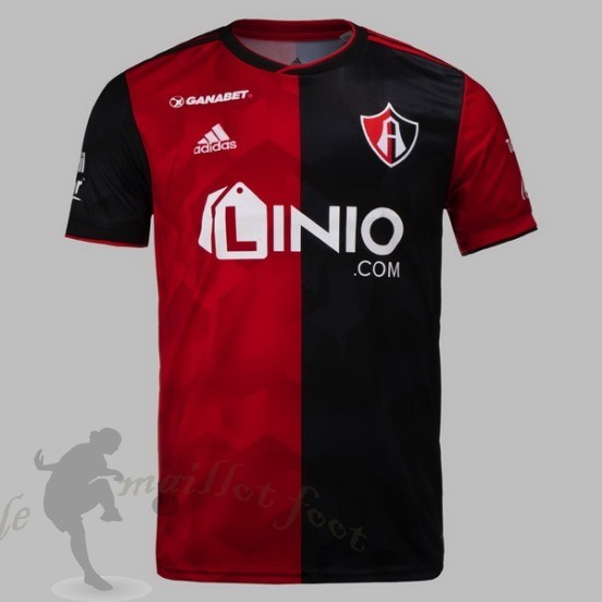 Tee Shirt Foot Pas Cher Adidas Domicile Maillot Cf Atlas Fc 2018 2019 Rouge