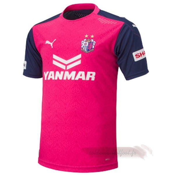 Tee Shirt Foot Pas Cher PUMA Domicile Maillot Cerezo Osaka 2020 2021 Rose