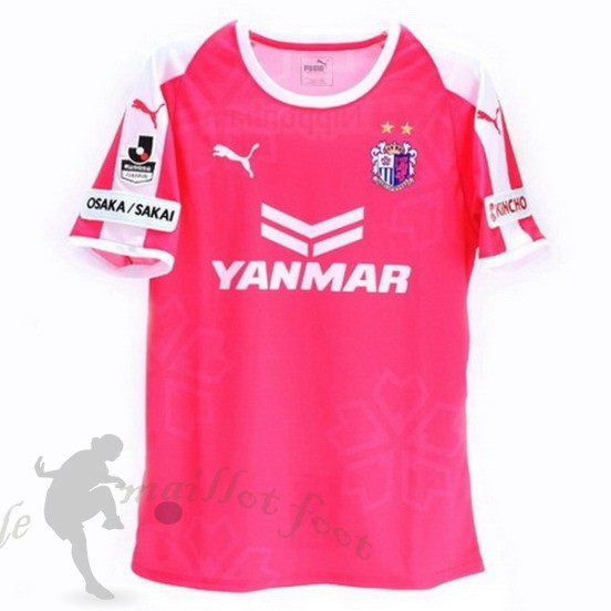 Tee Shirt Foot Pas Cher Puma Domicile Maillot Cerezo Osaka 2018 2019 Rose