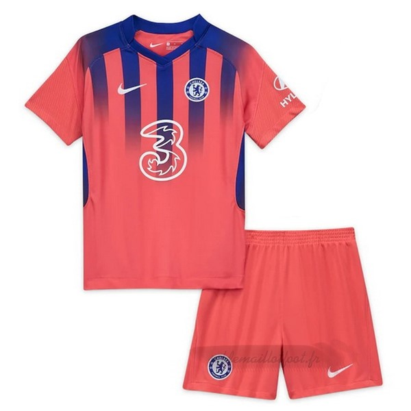 Tee Shirt Foot Pas Cher Nike Third Conjunto De Enfant Chelsea 2020 2021 Orange