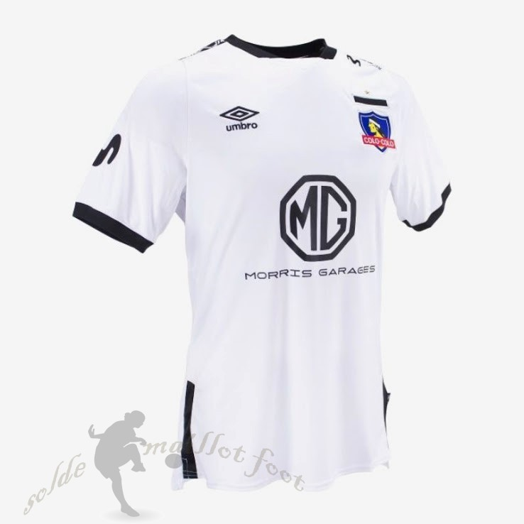 Tee Shirt Foot Pas Cher umbro Domicile Maillot Colo Colo 2019 2020 Blanc