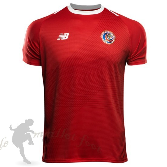 Tee Shirt Foot Pas Cher New Balance Domicile Maillot Costa Rica 2018 Rouge