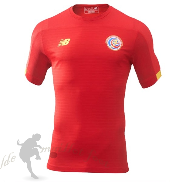 Tee Shirt Foot Pas Cher New Balance Domicile Maillot Costa Rica 2019 Rouge