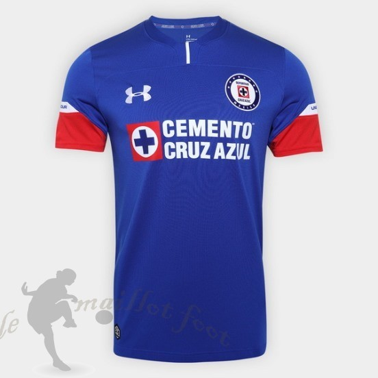Tee Shirt Foot Pas Cher Under Armour Domicile Maillot Cruz Bleu 2018 2019 Bleu