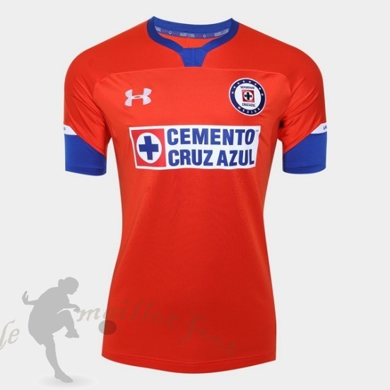 Tee Shirt Foot Pas Cher Under Armour Third Maillot Cruz Bleu 2018 2019 Rouge