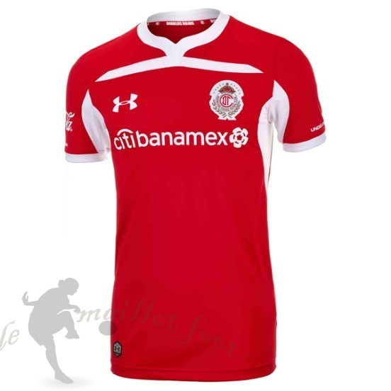 Tee Shirt Foot Pas Cher Under Armour Domicile Maillot Deportivo Toluca 2018 2019 Rouge