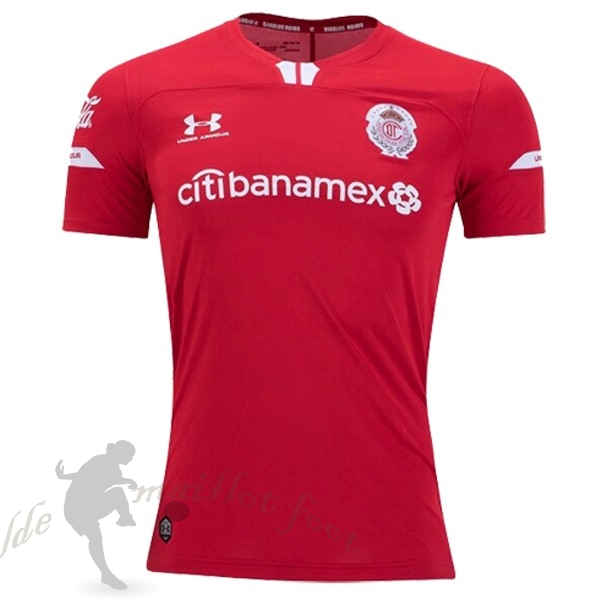 Tee Shirt Foot Pas Cher Under Armour Domicile Maillot Deportivo Toluca 2019 2020 Rouge