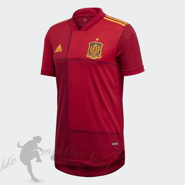 Tee Shirt Foot Pas Cher adidas Domicile Maillot Espagne 2020 Rouge