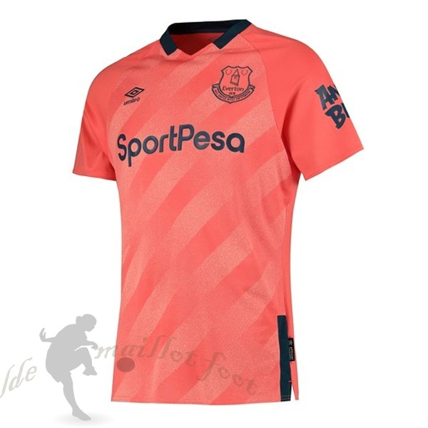Tee Shirt Foot Pas Cher Umbro Exterieur Maillot Everton 2019 2020 Orange