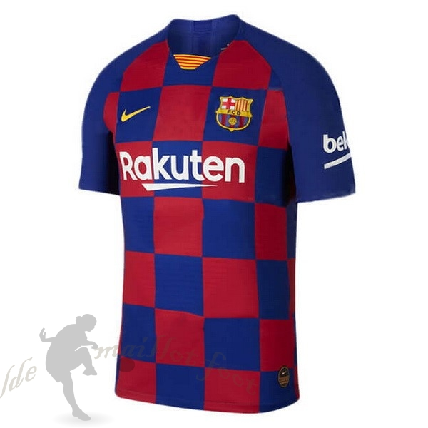 Tee Shirt Foot Pas Cher Nike Domicile Maillot Barcelona 2019 2020 Bleu Rouge