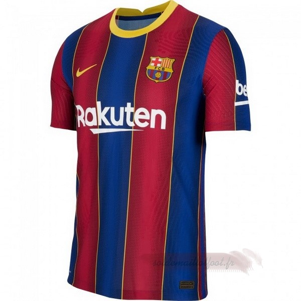 Tee Shirt Foot Pas Cher Nike Domicile Maillot Barcelone 2020 2021 Bleu Rouge