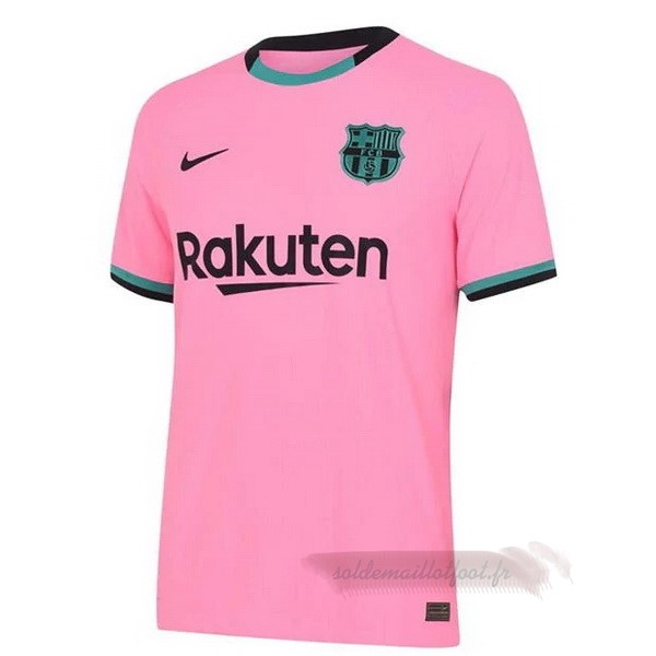 Tee Shirt Foot Pas Cher Nike Third Maillot Barcelone 2020 2021 Rose
