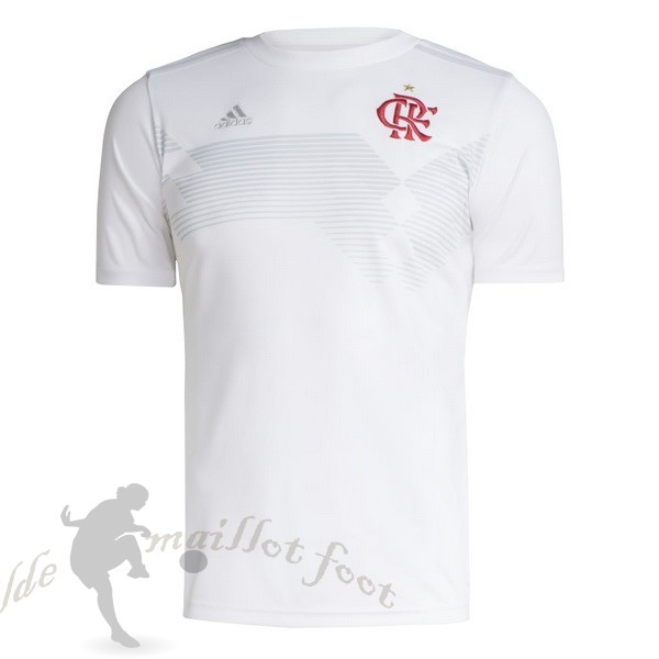 Tee Shirt Foot Pas Cher adidas Maillot Flamengo 70th Blanc