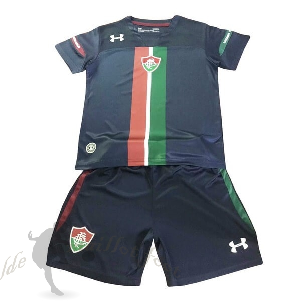Tee Shirt Foot Pas Cher Under Armour Third Ensemble Enfant Fluminense 2019 2020 Noir
