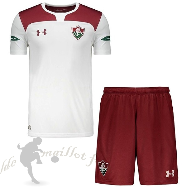 Tee Shirt Foot Pas Cher Under Armour Exterieur Ensemble Enfant Fluminense 2019 2020 Rouge Blanc