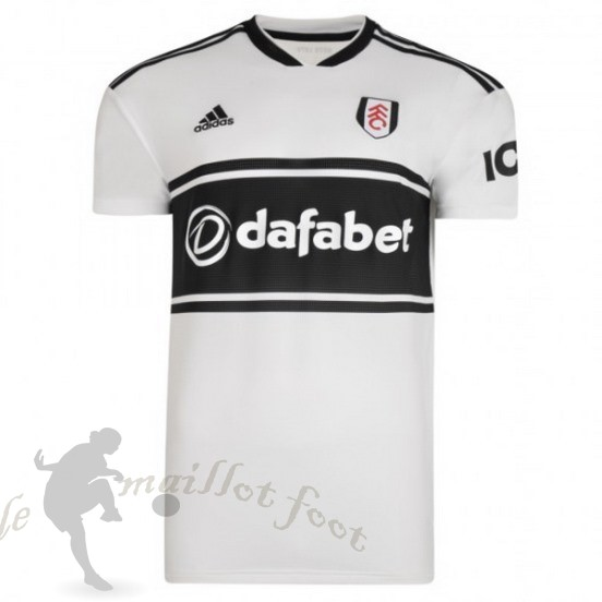 Tee Shirt Foot Pas Cher Adidas Domicile Maillot Fulham 2018 2019 Blanc