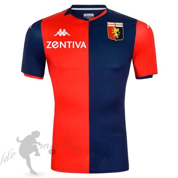 Tee Shirt Foot Pas Cher Kappa Domicile Maillot Genoa 2019 2020 Rouge
