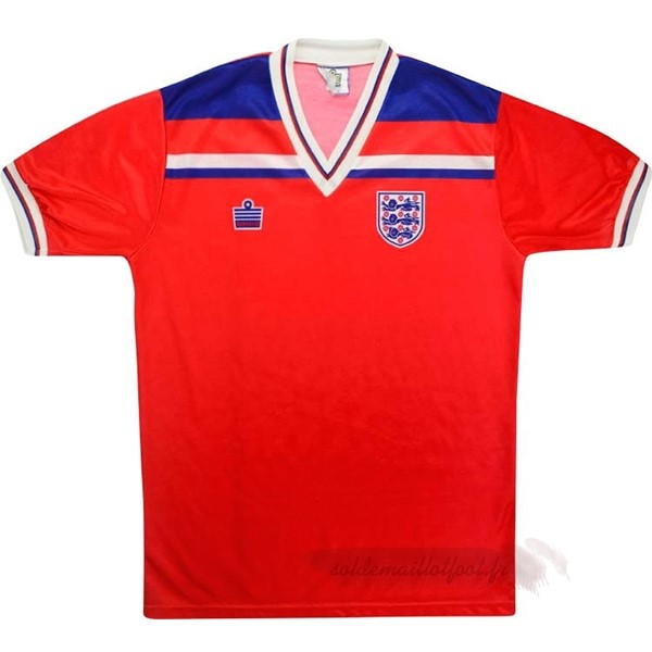 Tee Shirt Foot Pas Cher Admiral Exterieur Maillot Angleterre Rétro 1980 Rouge