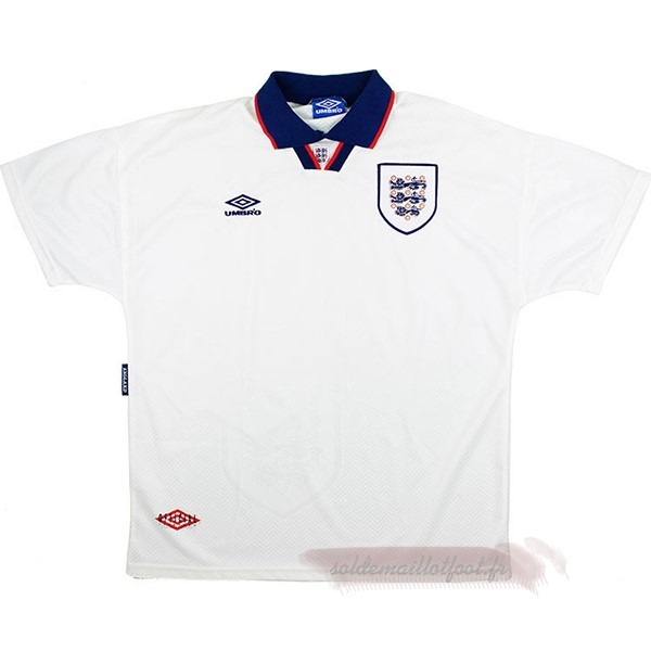 Tee Shirt Foot Pas Cher umbro Domicile Maillot Angleterre Rétro 1994 Blanc
