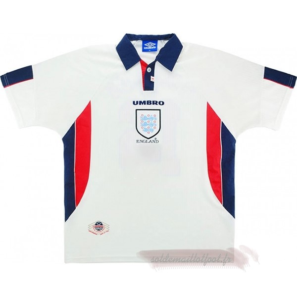 Tee Shirt Foot Pas Cher umbro Domicile Maillot Angleterre Rétro 1998 Blanc