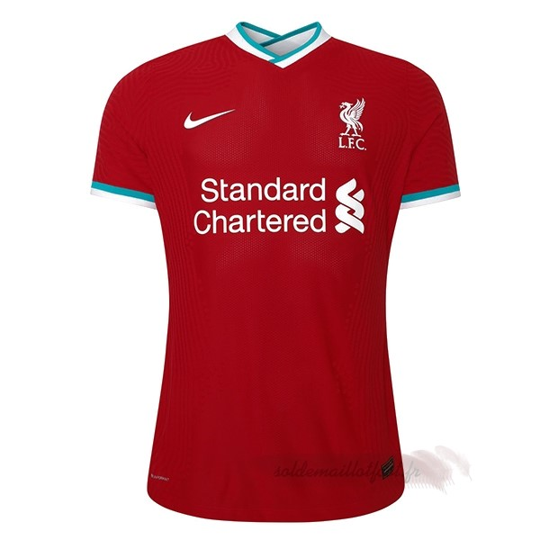 Tee Shirt Foot Pas Cher Nike Domicile Maillot Femme Liverpool 2020 2021 Rouge
