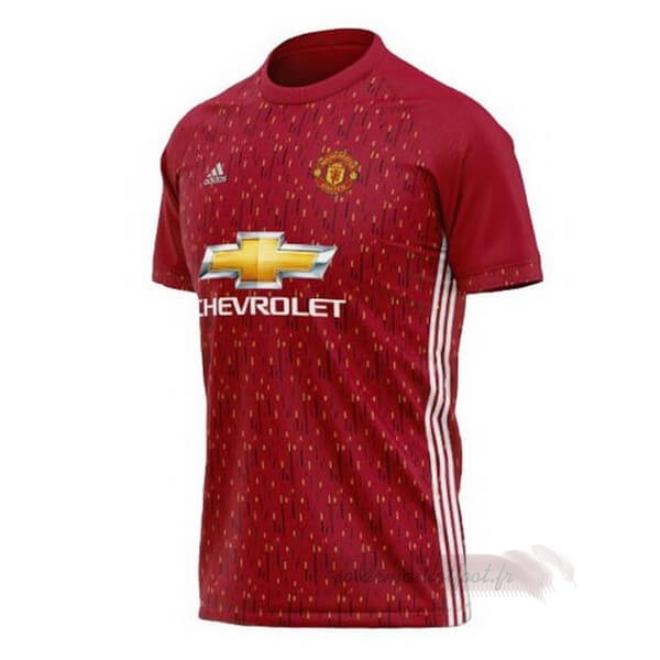 Tee Shirt Foot Pas Cher adidas Concept Maillot Manchester United 2020 2021 Rouge