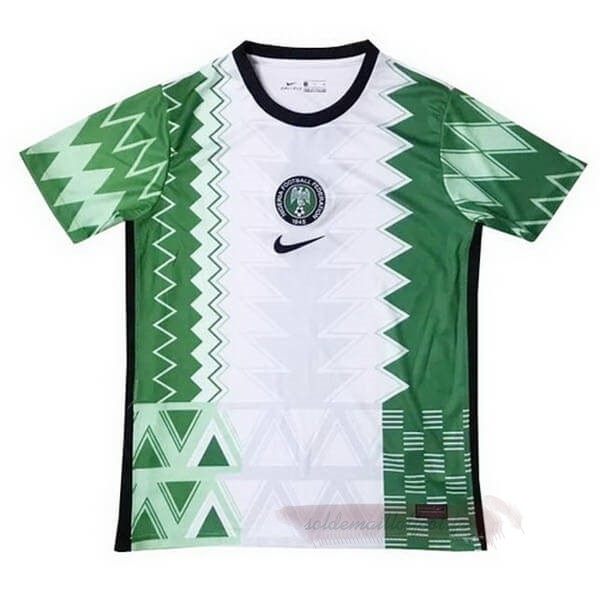 Tee Shirt Foot Pas Cher Nike Domicile Maillot Nigeria 2020 Vert