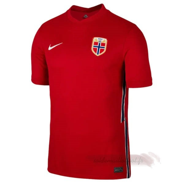 Tee Shirt Foot Pas Cher Nike Exterieur Maillot Norvège 2020 Rouge