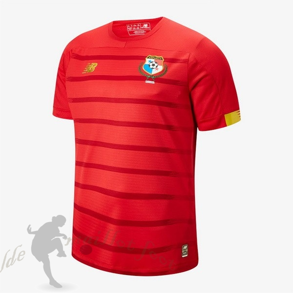 Tee Shirt Foot Pas Cher New Balance Domicile Maillot Panamá 2019 Rouge