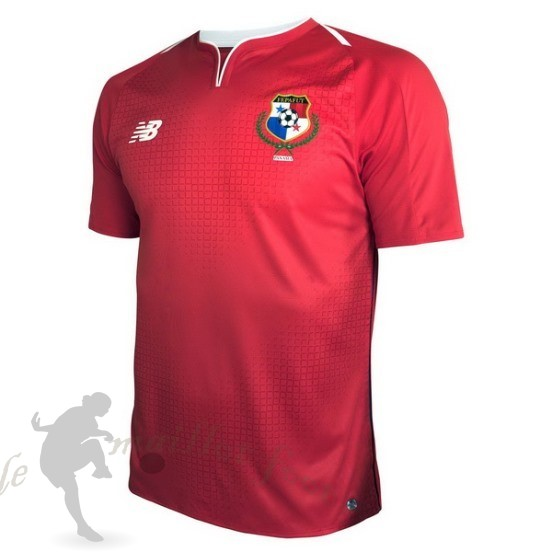 Tee Shirt Foot Pas Cher New Balance Domicile Maillot Panama 2018 Rouge