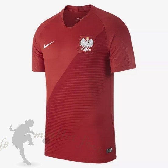 Tee Shirt Foot Pas Cher Nike Exterieur Maillot Pologne 2018 Rouge