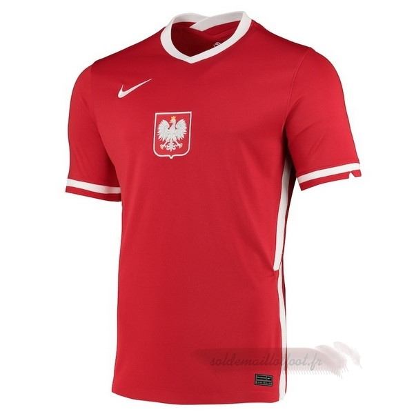 Tee Shirt Foot Pas Cher Nike Exterieur Maillot Pologne 2020 Rouge