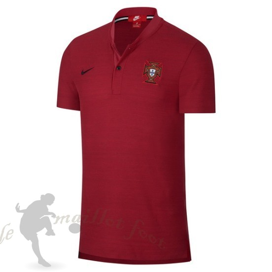 Tee Shirt Foot Pas Cher Nike Polo Portugal 2018 Rouge