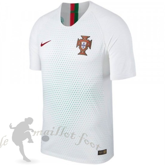Tee Shirt Foot Pas Cher Nike Exterieur Maillot Portugal 2018 Blanc