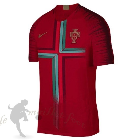 Tee Shirt Foot Pas Cher Nike Pre Match Maillot Portugal 2018 Rouge