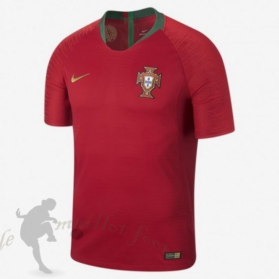 Tee Shirt Foot Pas Cher Nike Thailande Domicile Maillot Portugal 2018 Rouge