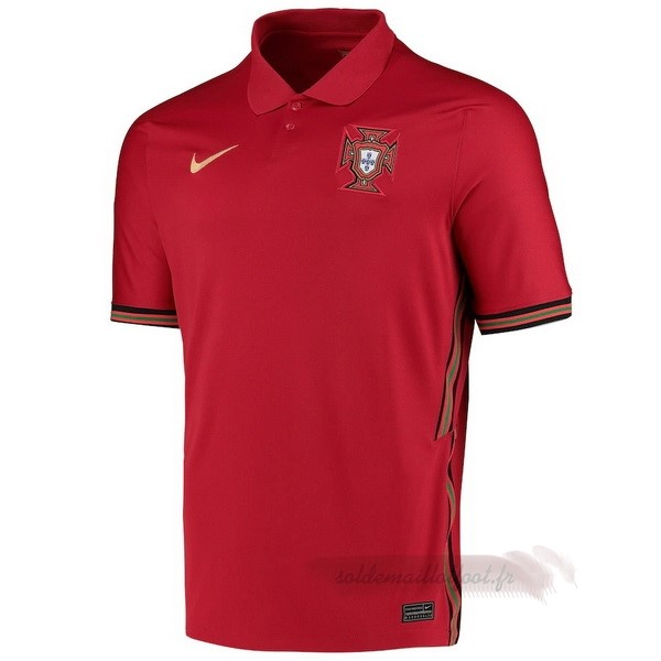 Tee Shirt Foot Pas Cher Nike Thailande Domicile Maillot Portugal 2020 Rouge