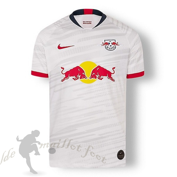 Tee Shirt Foot Pas Cher Nike Domicile Maillot Leipzig 2019 2020 Blanc