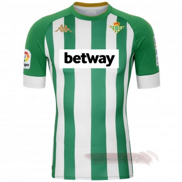 Tee Shirt Foot Pas Cher Kappa Domicile Maillot Real Betis 2020 2021 Vert