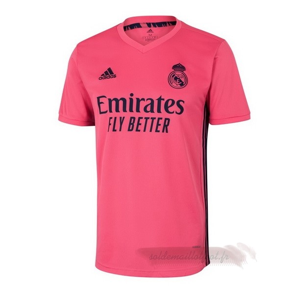 Tee Shirt Foot Pas Cher adidas Exterieur Maillot Real Madrid 2020 2021 Rose